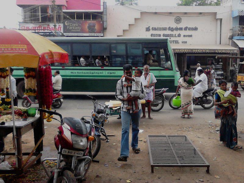 Indien mit dem Bus