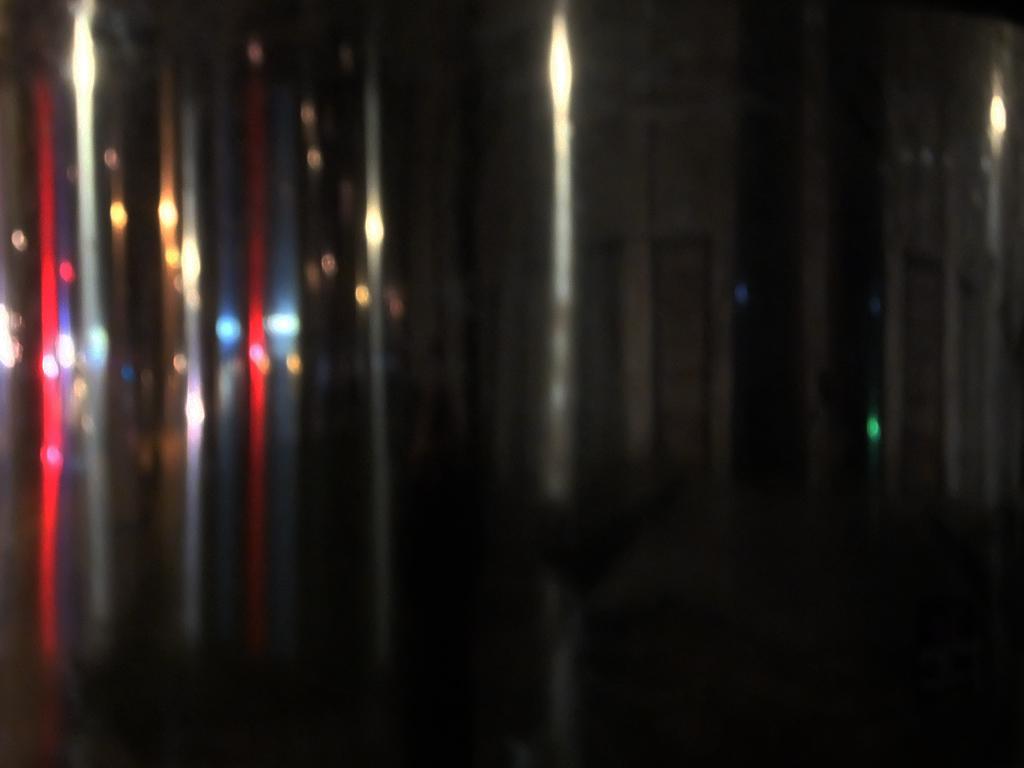abstrakte Nachtfotografie