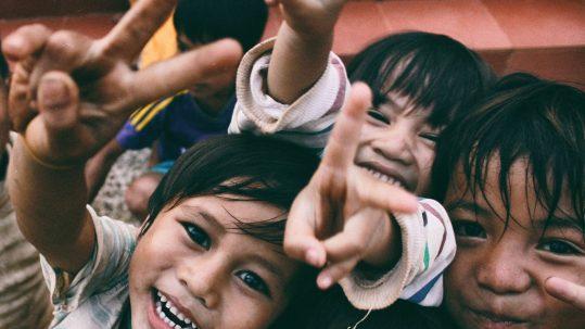 glückliche Kindheit